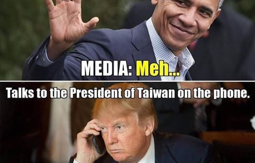 Trump talked to Taiwan, Chooses Mattis, and  is tired of spending trillions on ME wars