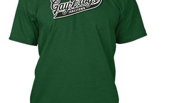 The Frogs are Gay Jonestown Baseball shirt