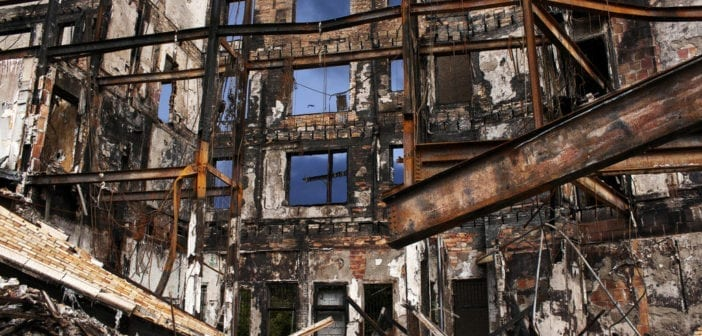 American cities in ruins thanks to leftist economic philosopphy