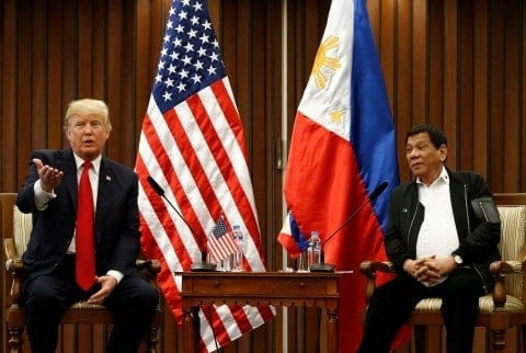 """Philippines protest Trump, China continues """"One Belt One Road"""" Policy"""