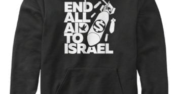 End All Aid to Israel Hoodies and Shirts arrive before Christmas!