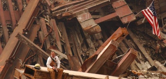 WTC beam debris